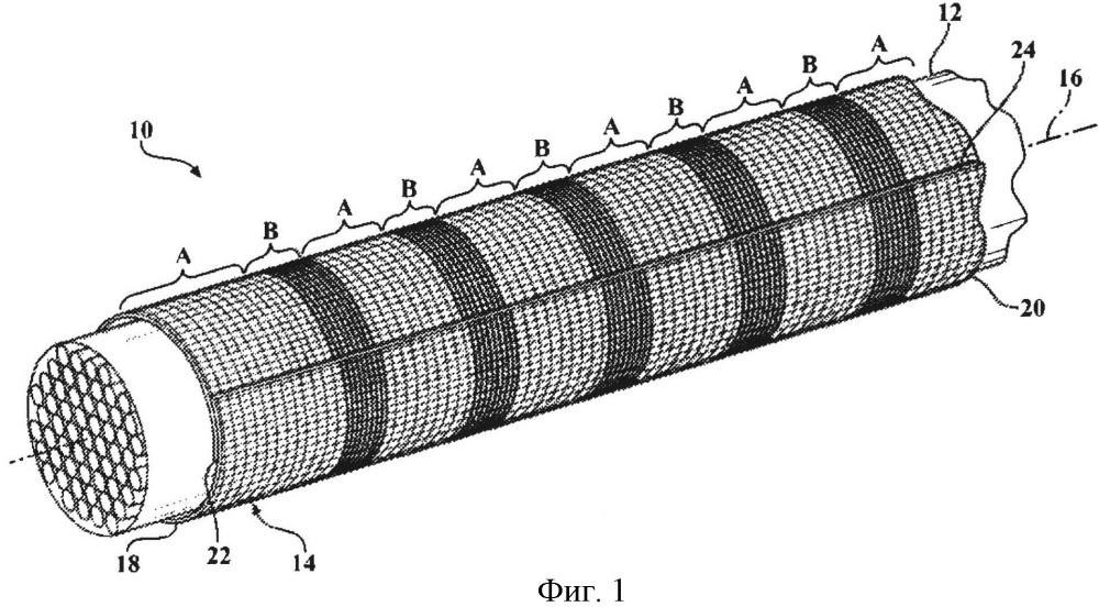 Плетеная текстильная оплетка и способ ее изготовления