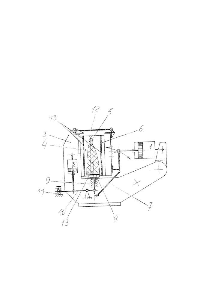 Пресс для формования пластмассовых изделий сложной конфигурации