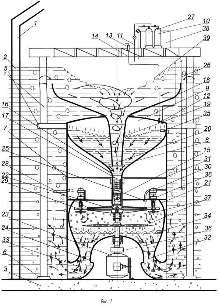 Погружная гидроэлектростанция