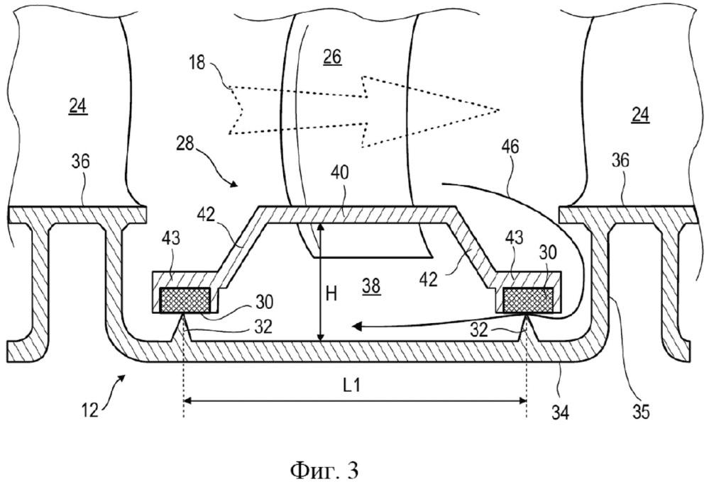 Ступень компрессора осевой турбомашины и осевая турбомашина, содержащая указанную ступень компрессора