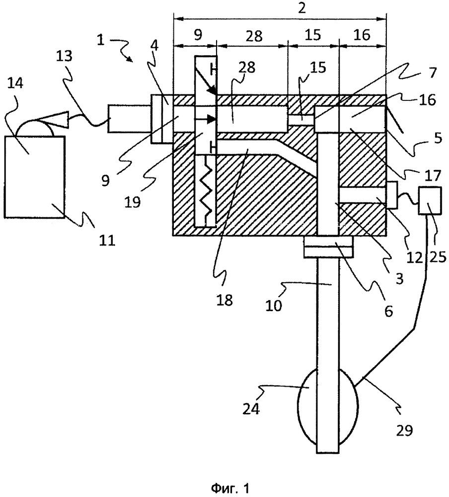 Реверсирующий поток газа элемент с байпасом и способ управления экспирацией пациента