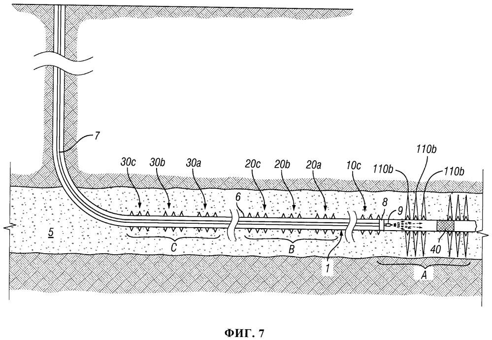 Система и способ проведения повторного гидравлического разрыва пласта в многозонных горизонтальных скважинах