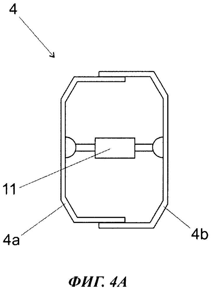 Способ и устройство для отливки бетонного изделия с центральной полостью