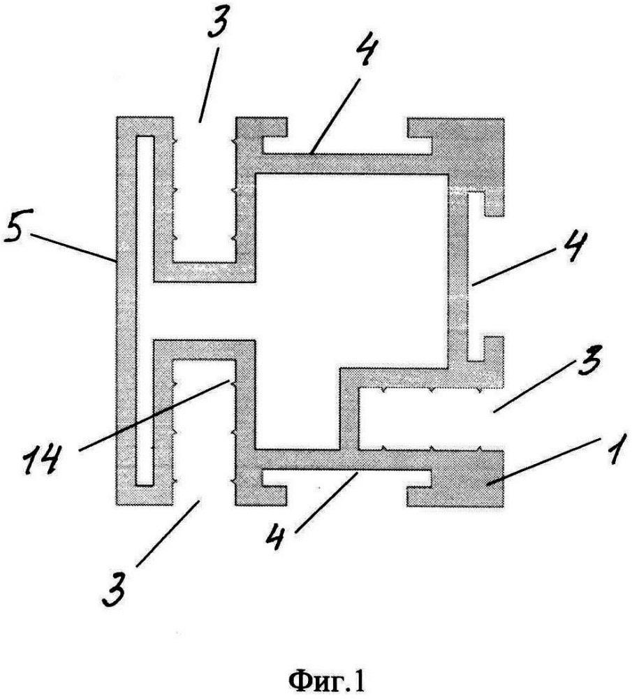 Комплект строительных профилей для сооружения каркасной конструкции здания или сооружения и каркасная конструкция здания или сооружения с использованием комплекта строительных профилей