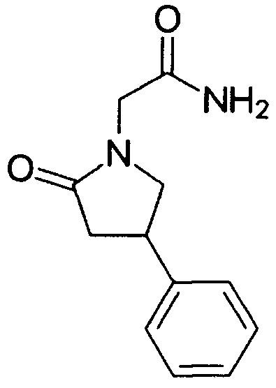 Способ получения 1-карбамоилметил-4-фенил-2-пирролидона