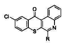 Использование производного соединения тиохромено[2,3-с]хинолин-12-она для лечения немелкоклеточного рака легких