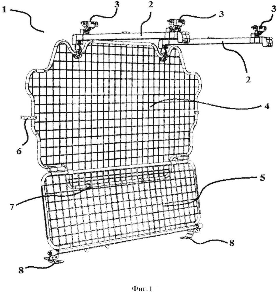 Механизм для изменения ширины багажного отделения в транспортных средствах