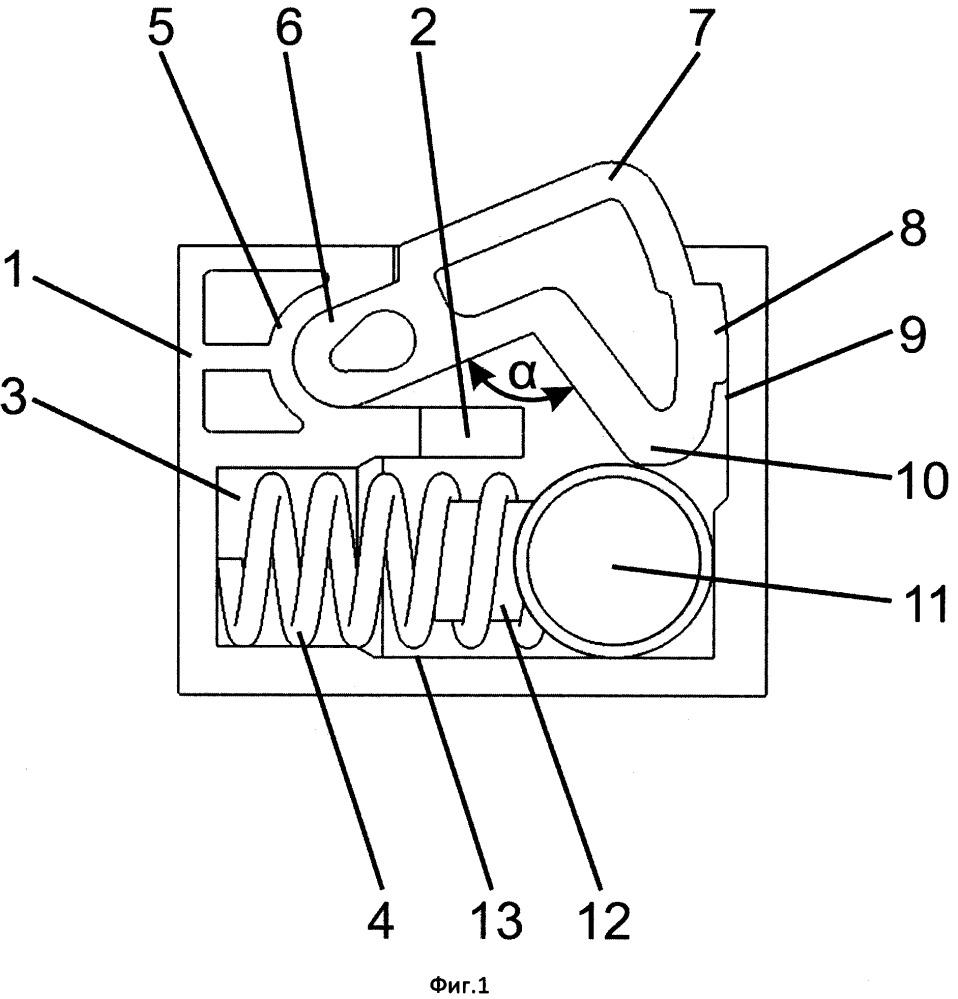 Узел извещающий для электронной педали акселератора