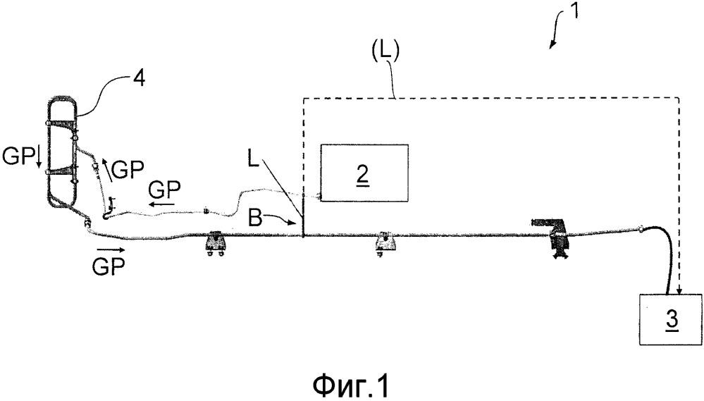 Трубопроводная система для автомобиля