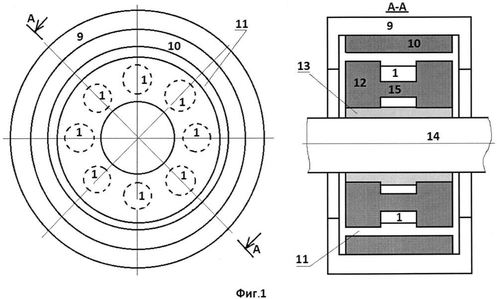 Способ бесконтактного (бесподшипникового) вращения обода колеса и устройство для его осуществления