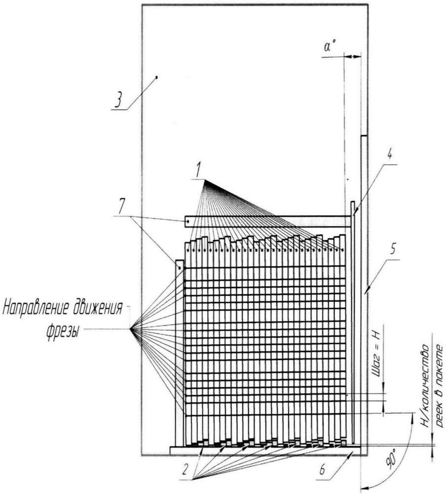 Способ изготовления реек каркаса реактора высокочастотного заградителя с пазами для витков катушек