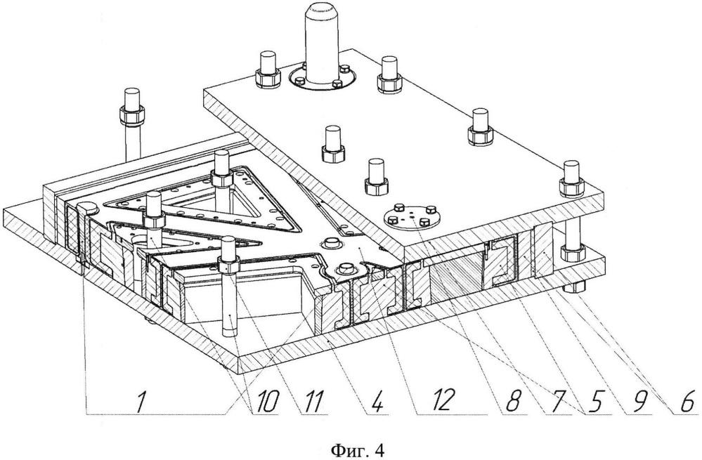 Интегральная рамная конструкция из слоистого полимерного композиционного материала, способ её изготовления и оснастка для осуществления способа