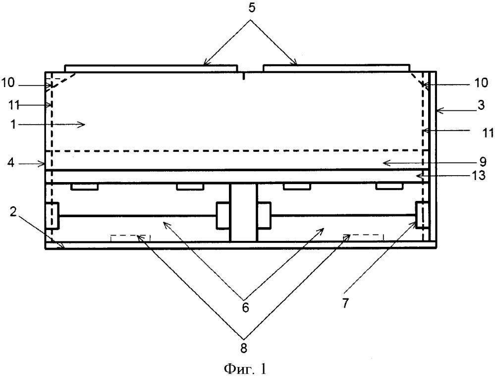 Универсальный контейнер для перевозки тарно-штучных и сыпучих грузов