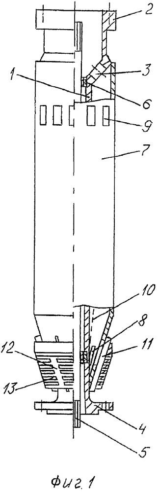 Модуль фильтрации самоочищающийся с функцией газоотделения