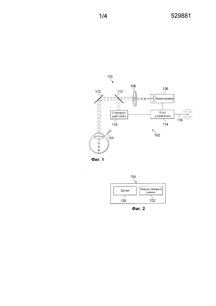 Системы и способы для интраоперационной биометрии или рефракционных измерений глаза