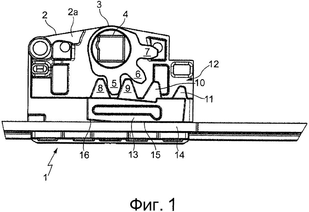 Передаточный механизм для фурнитуры с приводной тягой
