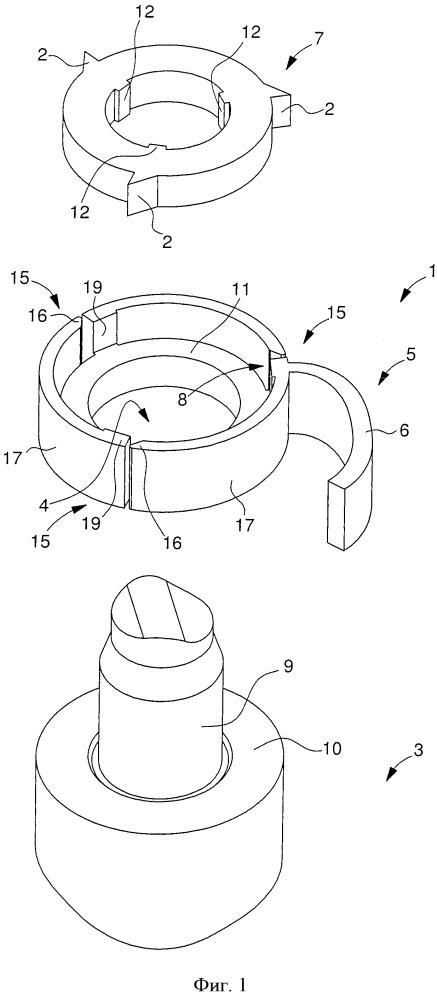 Устройство для сборки и фиксирования соединения
