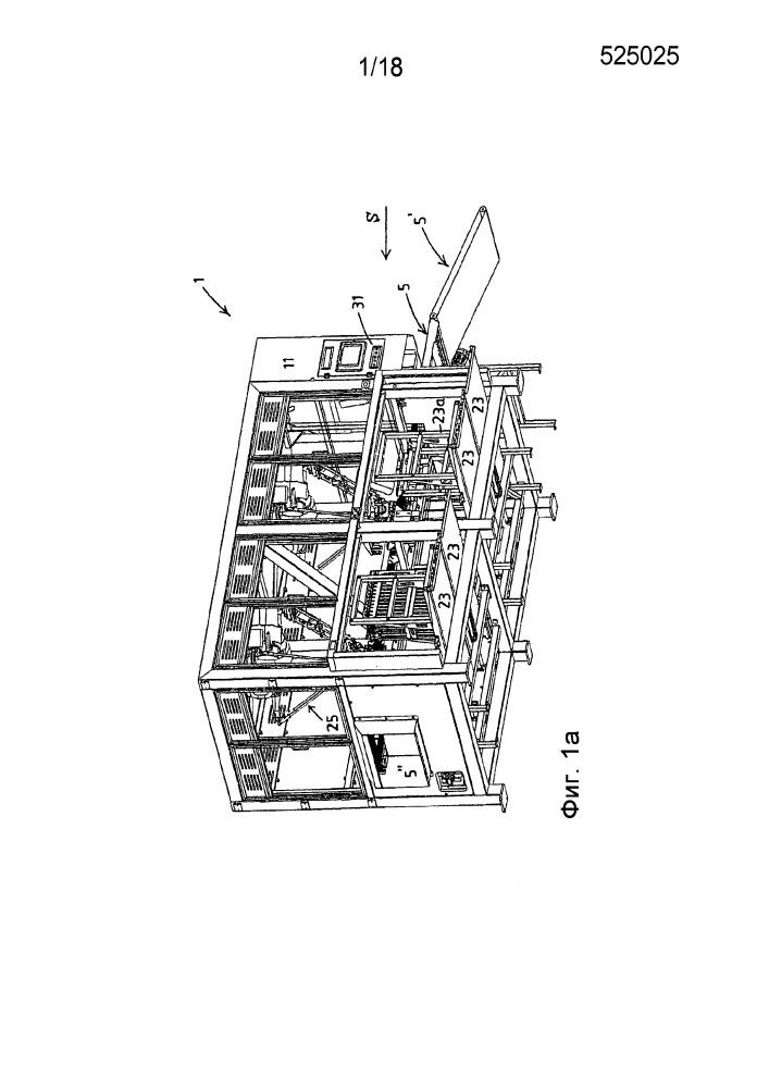 Роботизированная система подбирания пакетов и способ сборки и собирания незаполненных пакетов с носиком