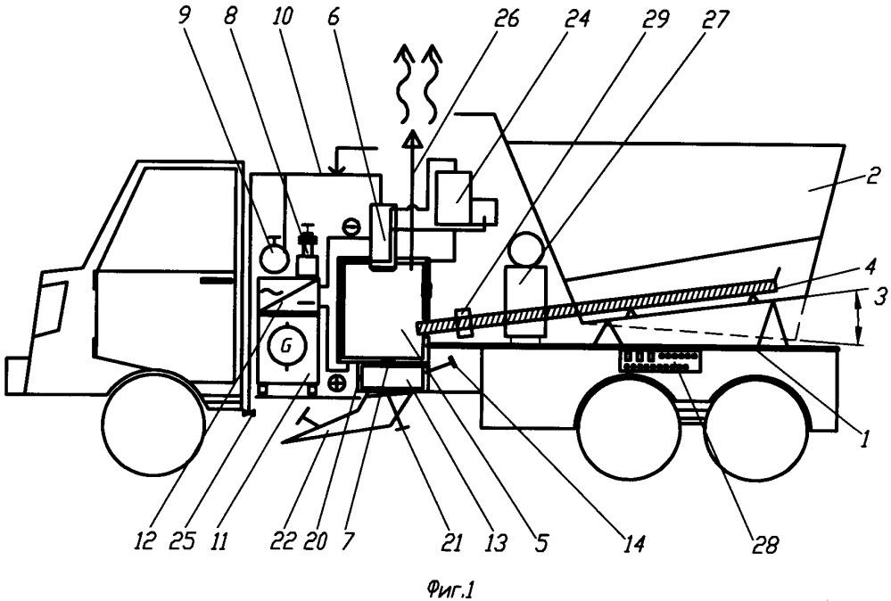 Способ ямочного ремонта асфальтобетонного дорожного покрытия и дорожная машина для его осуществления