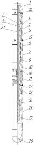Якорь для фиксации оптико-волоконного кабеля в скважине