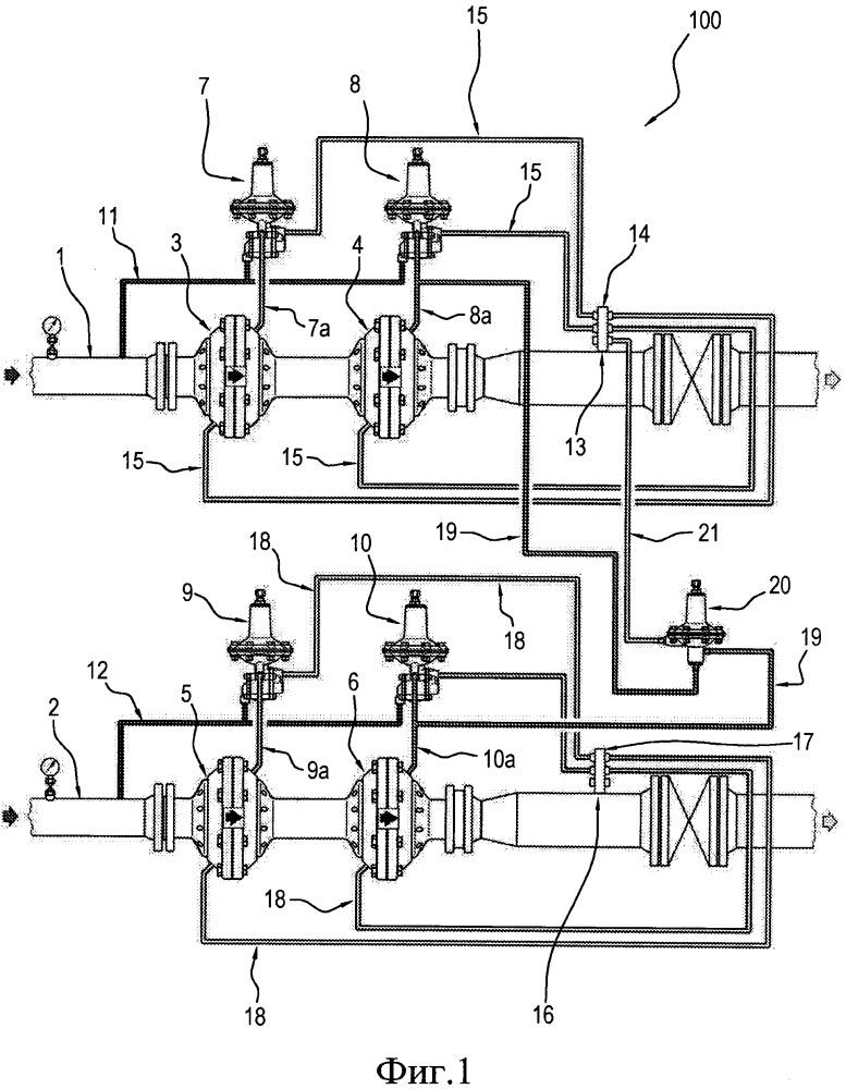 Устройство и способ для равномерного распределения потока