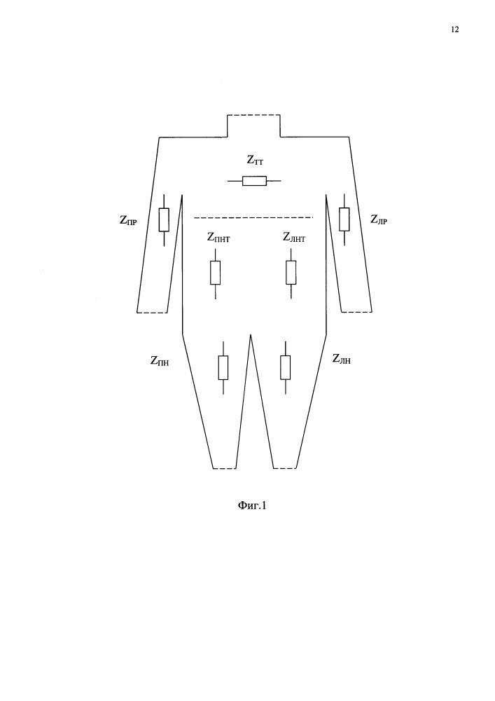 Устройство для измерения электрического импеданса в частях тела