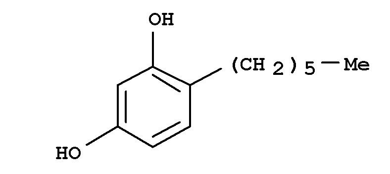Композиции с низким содержанием масел, включающие 4-замещенный резорцин и сложный эфир с длинной углеродной цепью