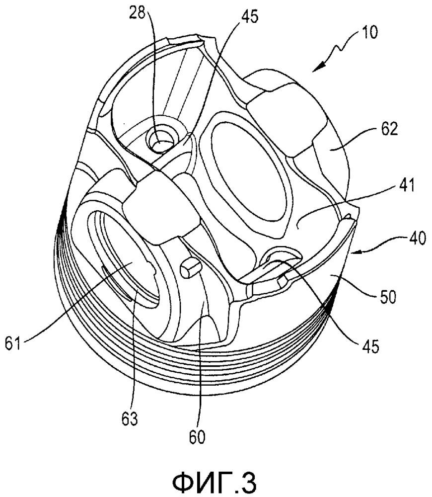 Облегченная конструкция поршня дизельного двигателя