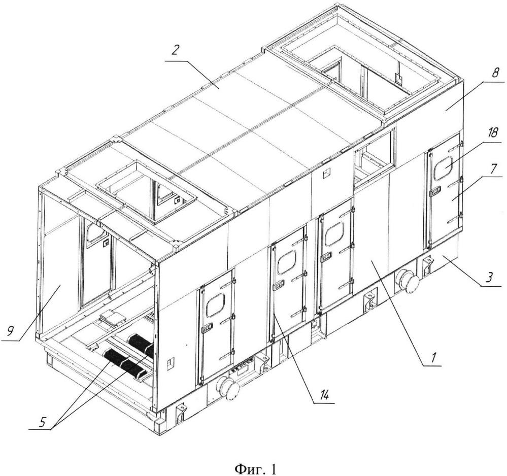 Кожух теплозвукоизолирующий газотурбинной установки арктического исполнения
