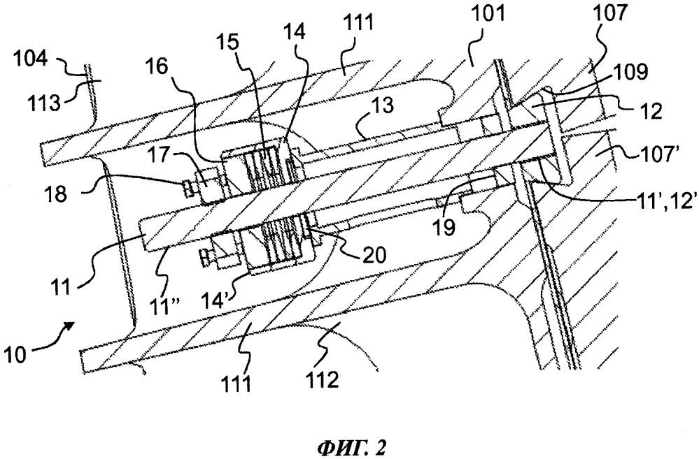 Стяжной элемент, стяжное устройство, щековая дробилка, установка для обработки минерального материала и способ регулирования степени затяжки изнашиваемой детали