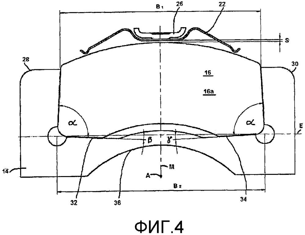 Дисковый тормозной механизм, в частности, для автомобилей промышленного назначения, а также тормозная накладка такого дискового тормозного механизма