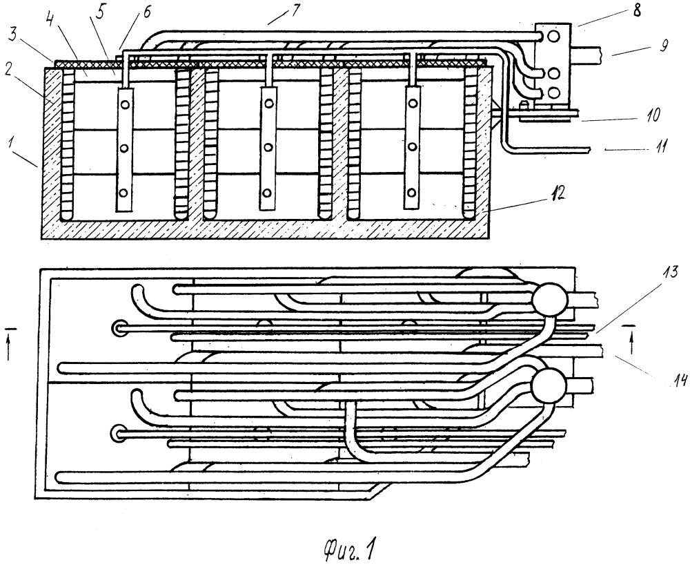Зональный теплоаккумулятор с распределителями по температуре для жидкости и воздуха