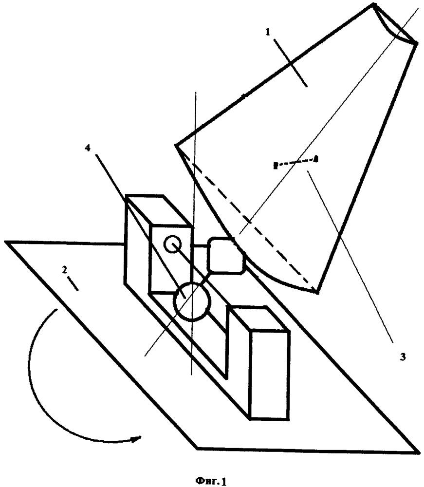 Крылевой ветродвигатель