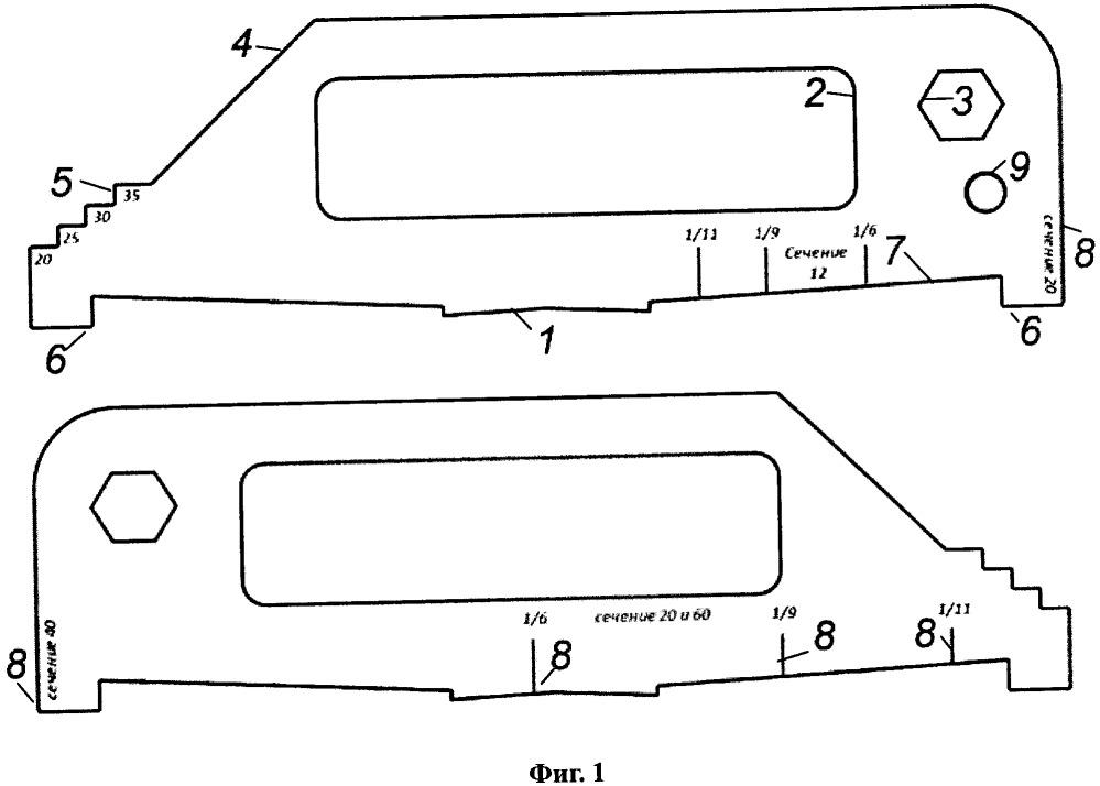 Универсальный координатно-измерительный шаблон