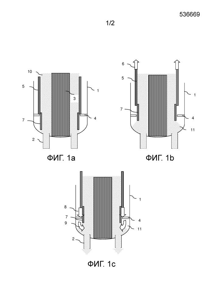Каталитический реактор с подвижным слоем, позволяющий не поддаваться прерываниям циркуляции катализатора, и способ, использующий указанный реактор