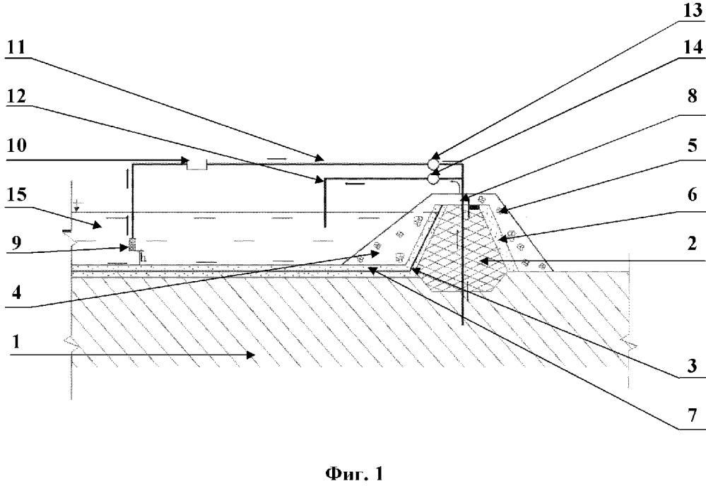 Замораживающая система грунтовой плотины в зоне вечной мерзлоты и плотина с ее применением