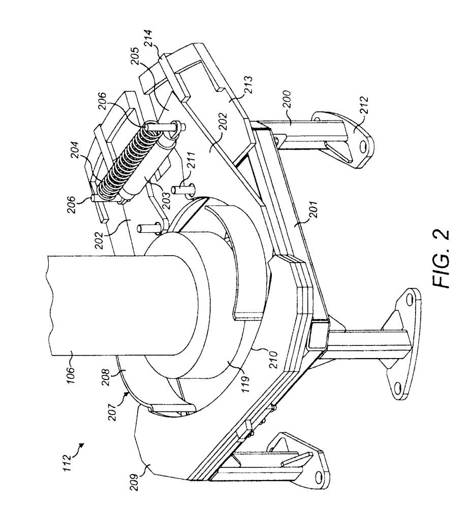 Конусная инерционная дробилка с устройством для фиксации дебаланса