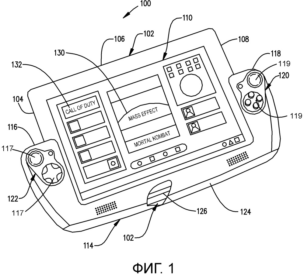 Игровой контроллер с адаптивным мостом, поддерживающим сенсорный экран