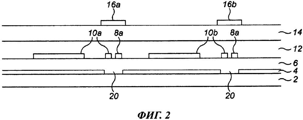 Подавление токов утечки в устройстве на тонкопленочных транзисторах
