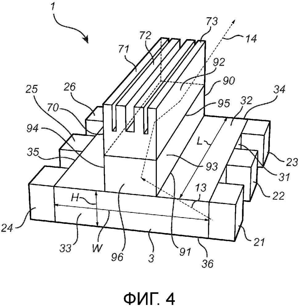 Светоизлучающее устройство с элементом спектрального преобразования
