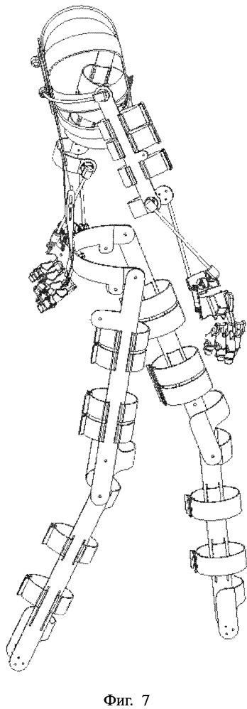 Пассивный реабилитационный экзоскелет