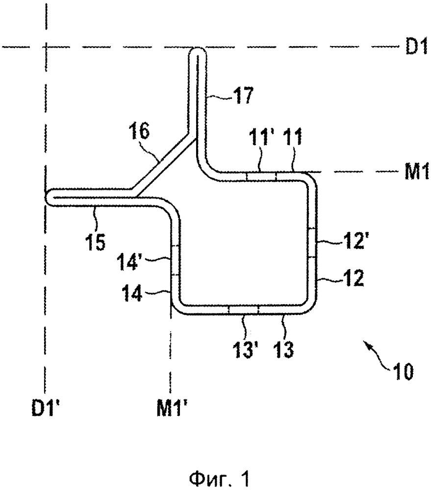 Рамный профиль рамного каркаса для коммутационного или распределительного шкафа