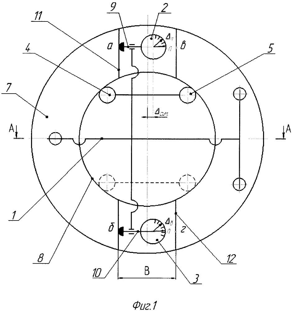 Способ измерения параметров паза на торце втулки