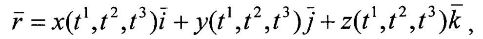 Экспериментальный способ параметризации трехмерных тел сложной геометрии