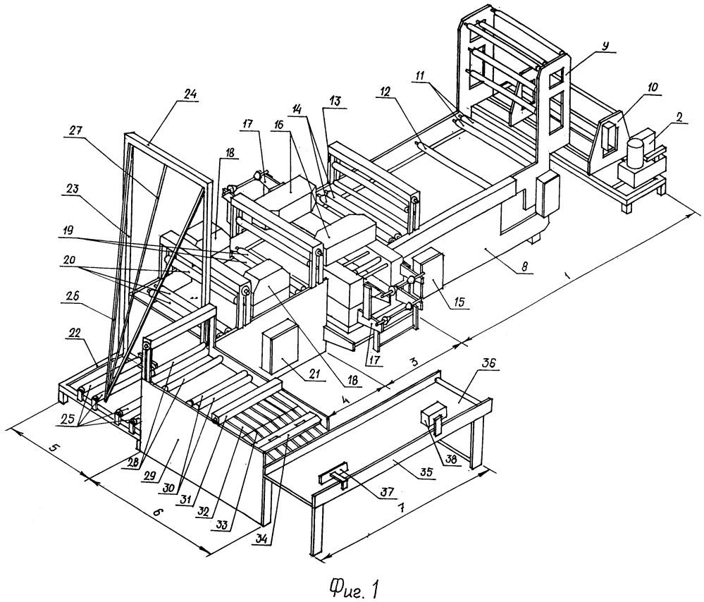 Установка для поэтапного изготовления полиэтиленовых пакетов