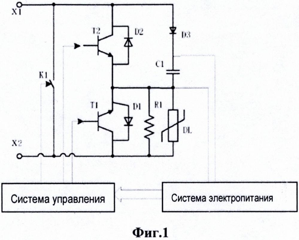 Топология схемы демпфирования токов короткого замыкания, метод и преобразователь на ее основе