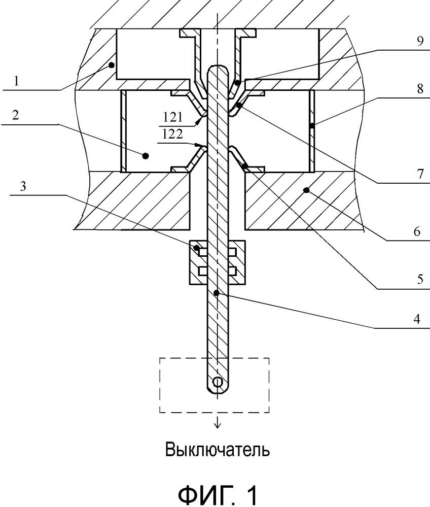 Автоматическая дугогасительная камера для повышения эффекта теплового расширения