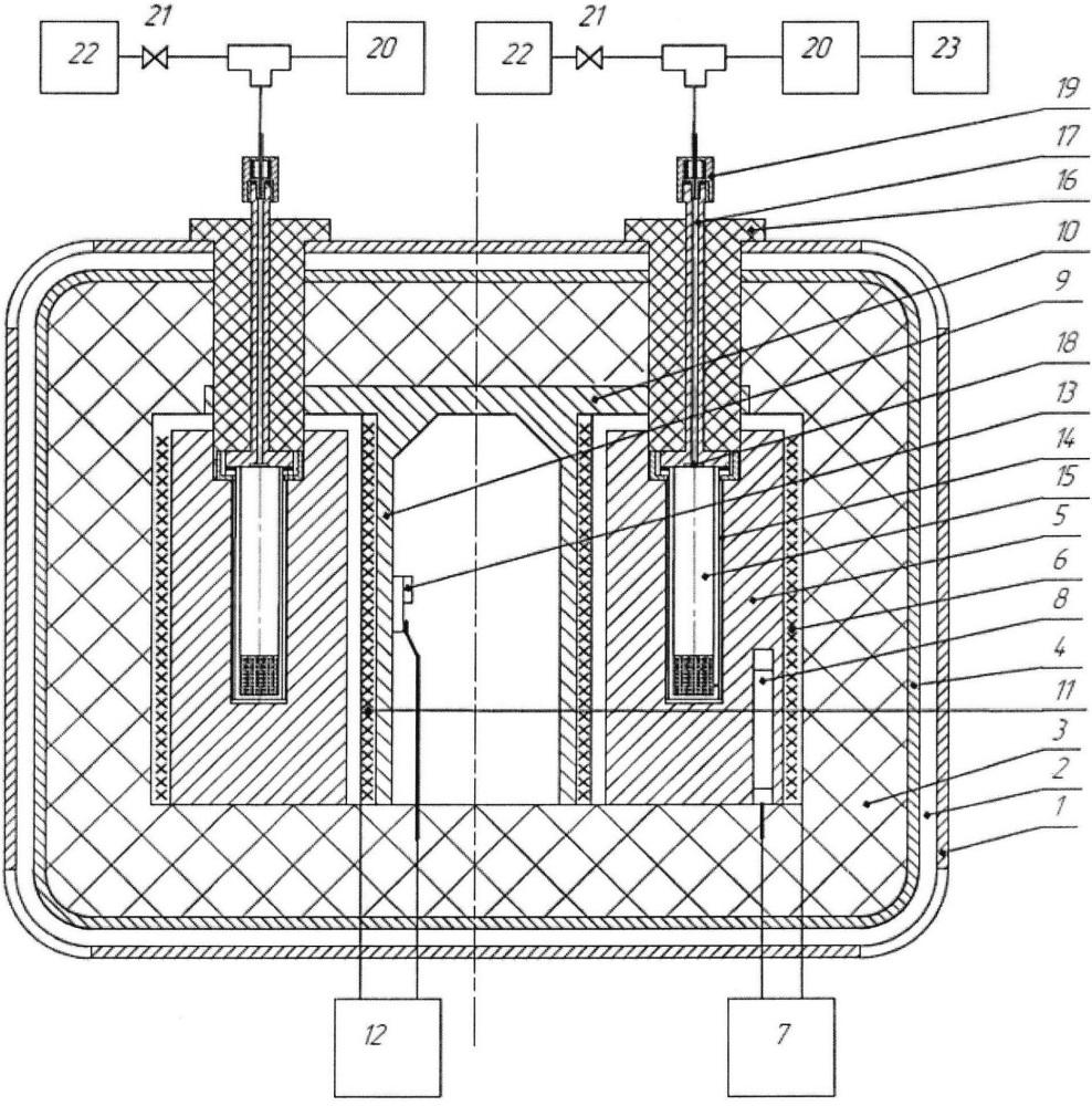 Устройство для определения термической стойкости веществ