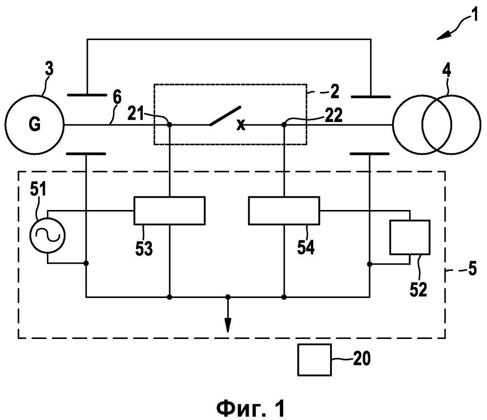 Устройство для контроля в реальном времени автоматического выключателя среднего и высокого напряжения