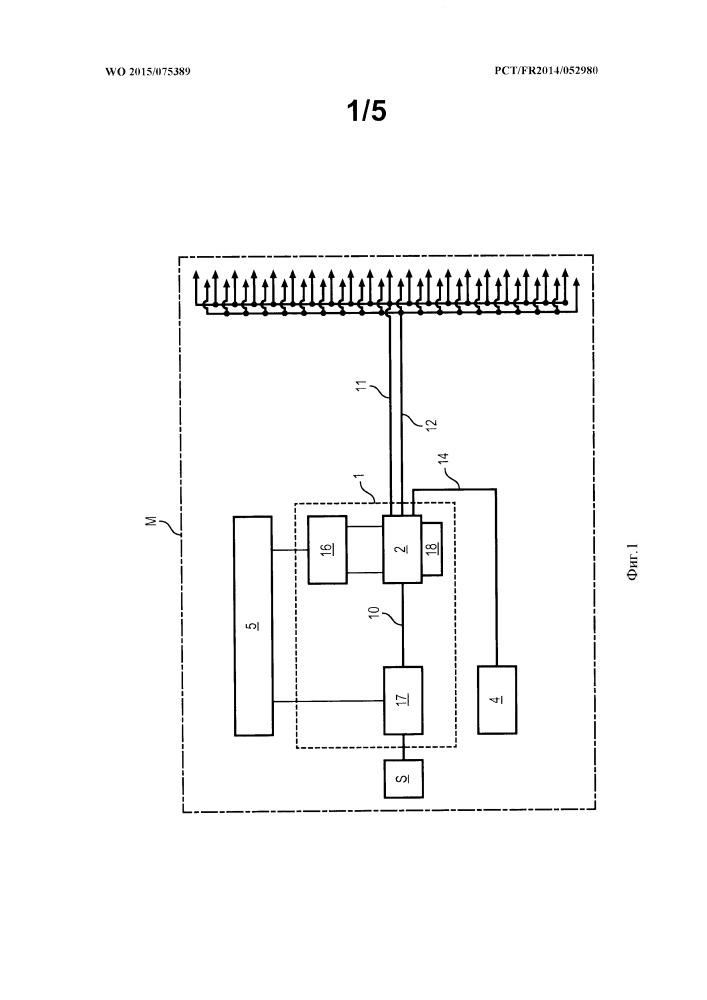 Многоканальное устройство впрыска для авиационного двигателя